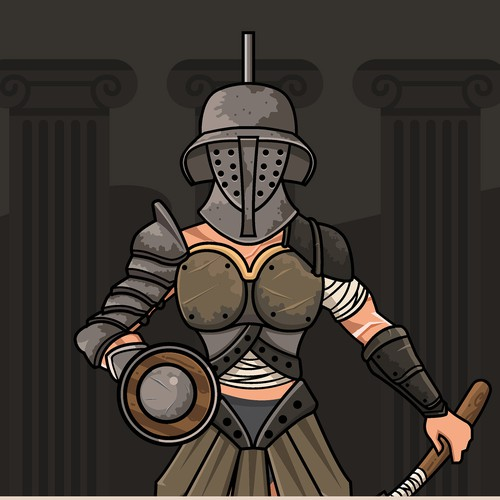 Gladiator Character
