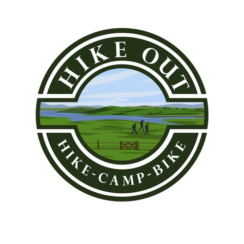 logo for community hiking group
