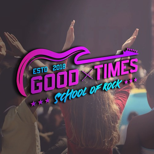 Logo for Good Times