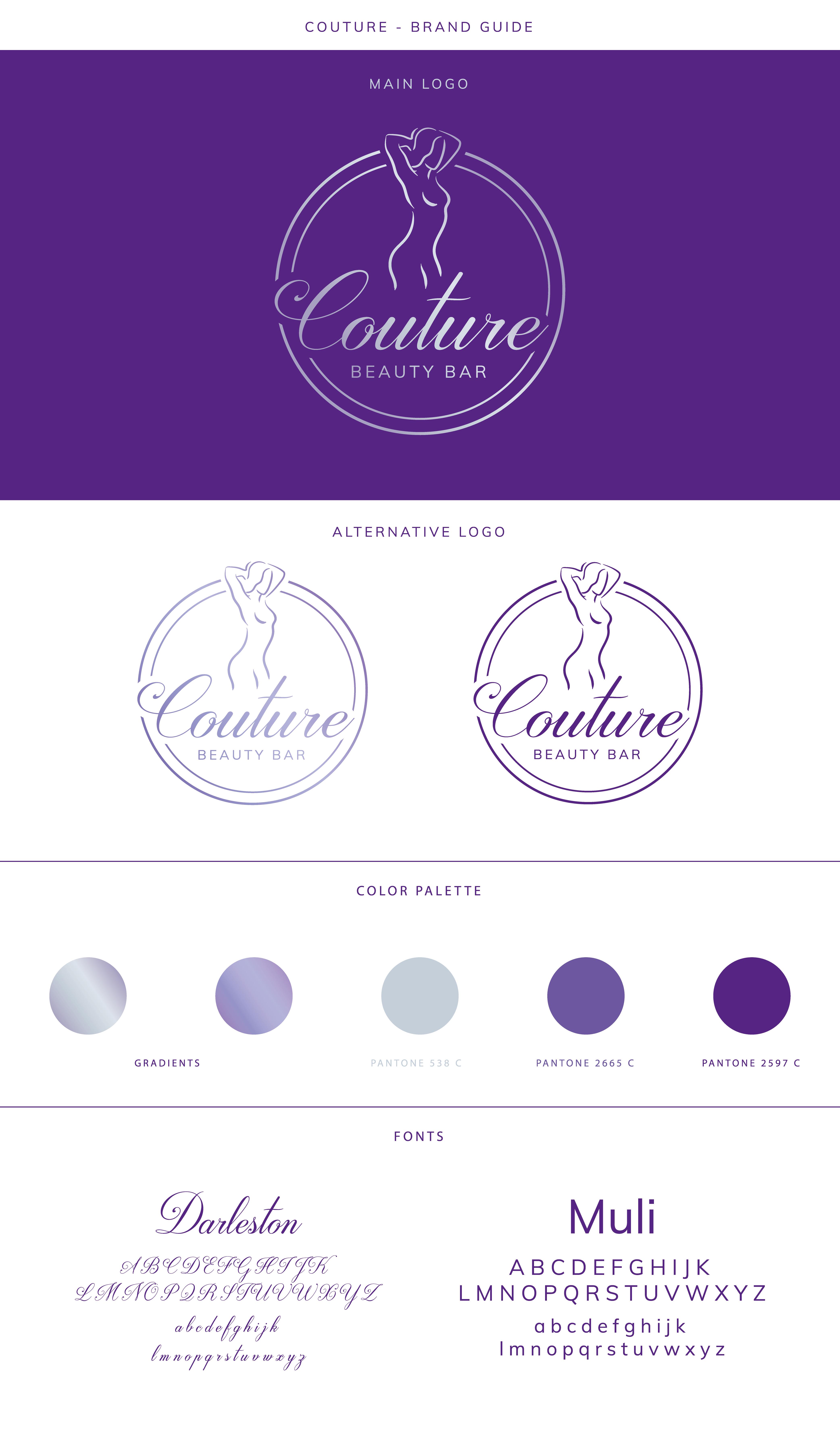 Couture Beauty Bar, Main logo
