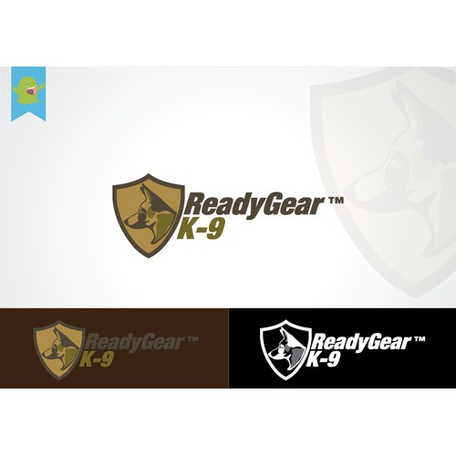Create the next logo for ReadyGear™ K-9