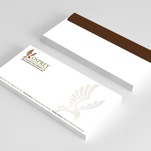 Stationary and Envelope creating for Construction Company