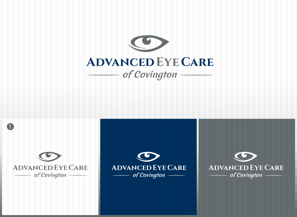 Create a sharp, modern logo that represents excellence in eye care