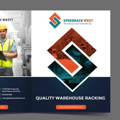 Industrial warehouse racking