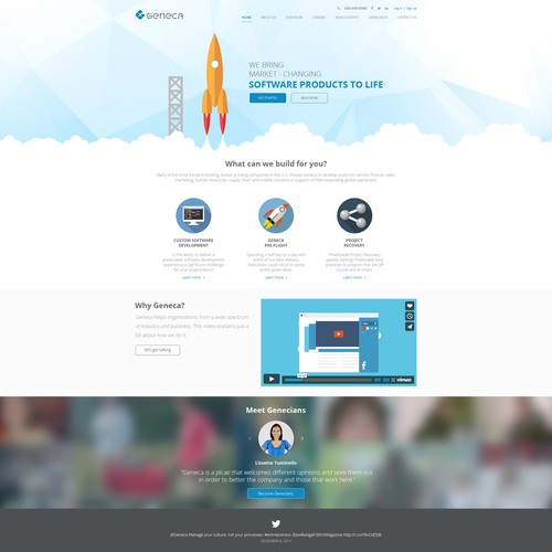 Create a Rockstar Landing Page Template