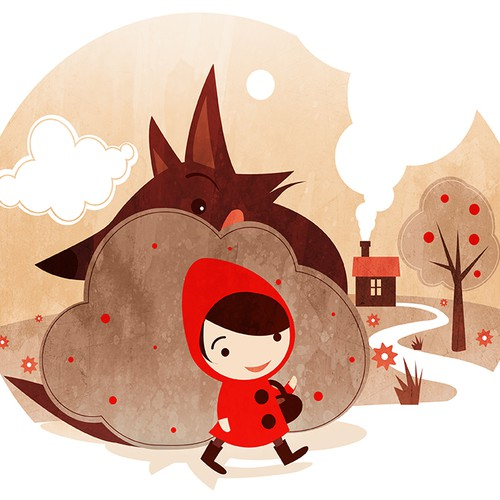 Fairy Tales Illustrations for children's clothing