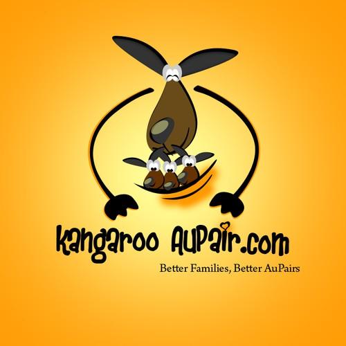 Kangaroo Aupair Logo