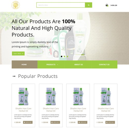 Ayurveda Essentials redisign web