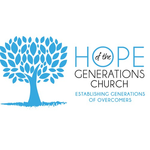 "Logo for ""Hope of the Generations Church"""
