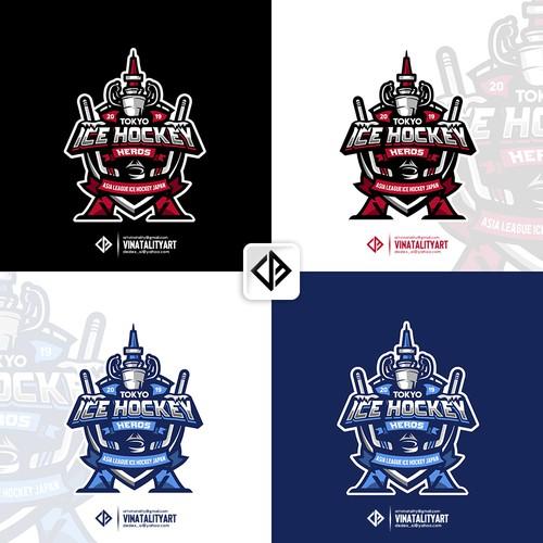 Logo ICE HOCKEY HEROS