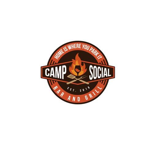 LOGO FOR CAMP SOCIAL