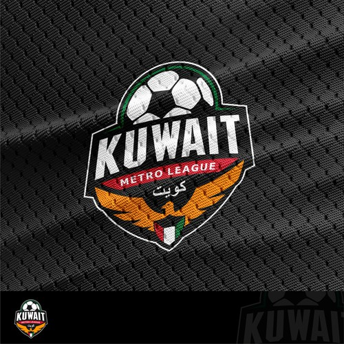 Emblem Logo Design for Kuwait Metro League