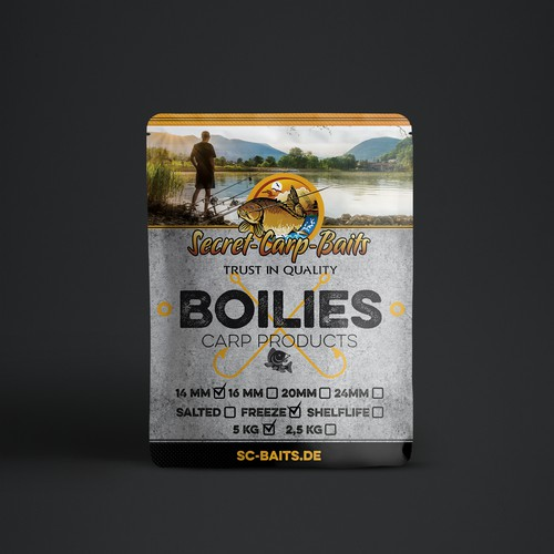 Label for Boilies