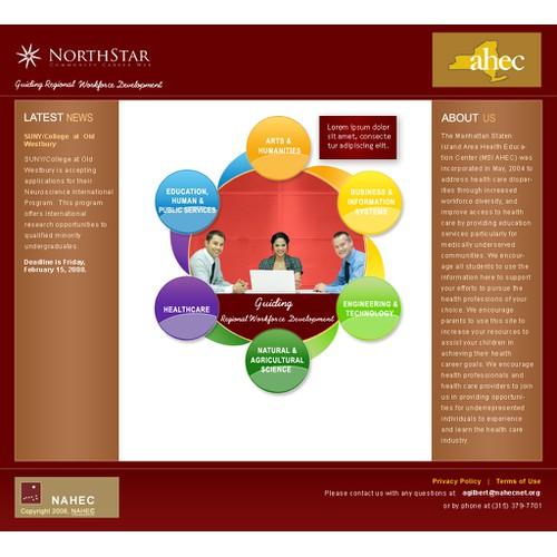 Redesign for NorthStar a career services website