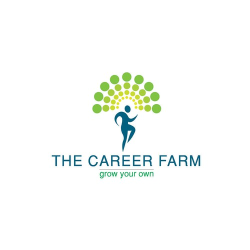 Logo concept for The Career Farm