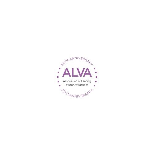25th Anniversary Logo for Alva