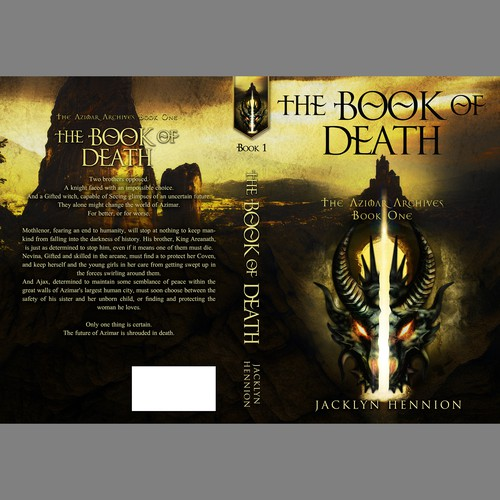 Book cover The Book of Death