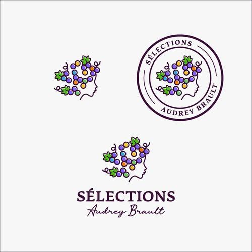 Sélections Audrey Brault Logo Design