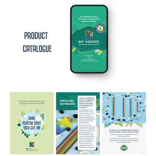 Product catalogue for sustainable straw