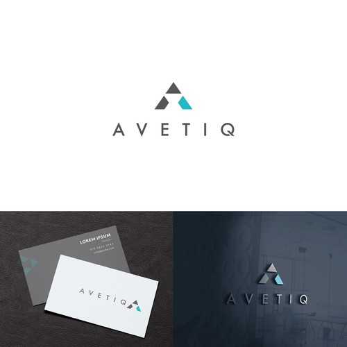 High tech logo for AVETIQ