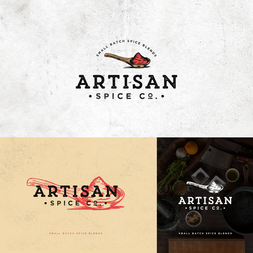 Logo Design Entry for Artisan Spice Co.