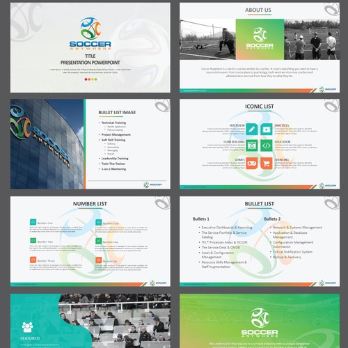 Sports Powerpoint Templates