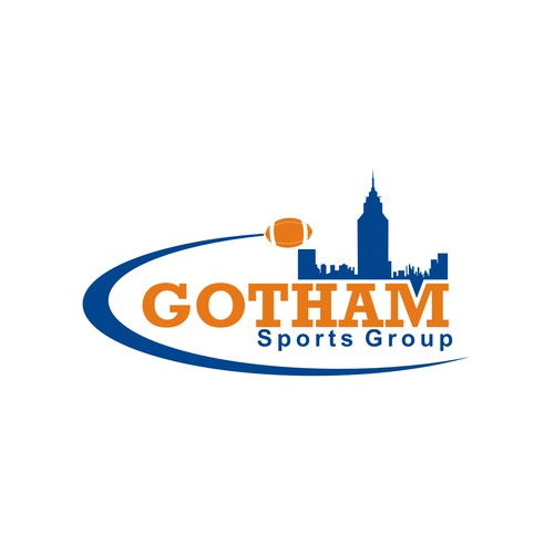 Create THE logo and look of Gotham Sports Group