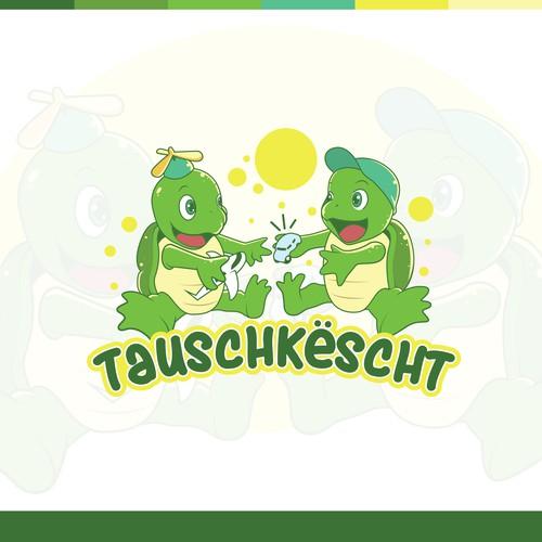 Concept Logo for tauschkescht