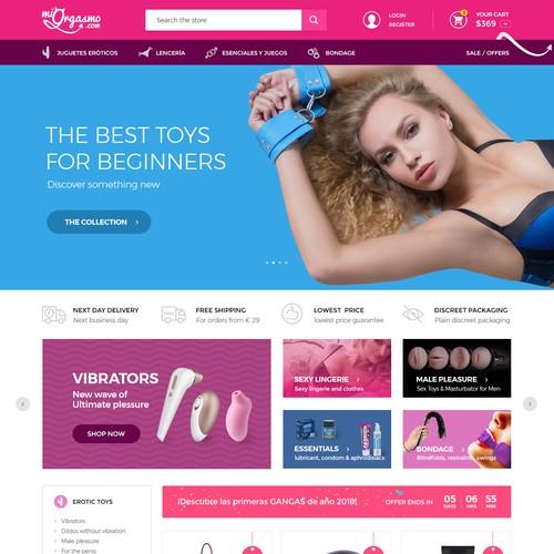 Sex toys online shop