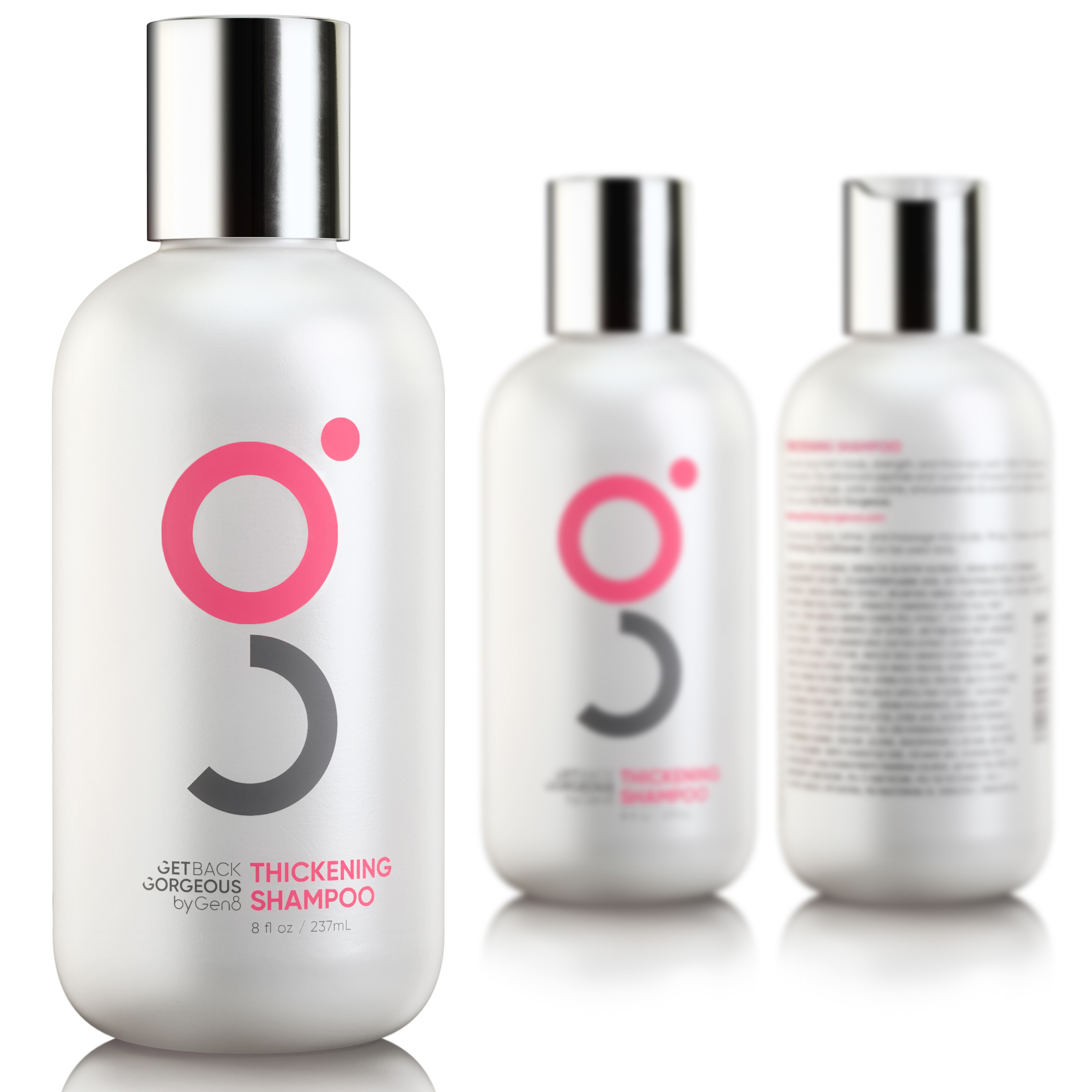 Get Back Gorgeous Shampoo Renders (for 2 shampoos)