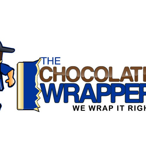 Help The Chocolate Wrapper with a new logo