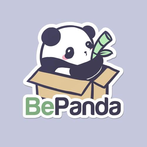 BePanda Logo design