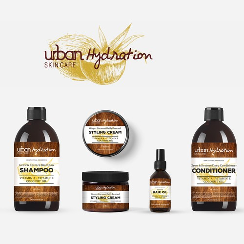 Packing natural cosmetics Urban Hydration