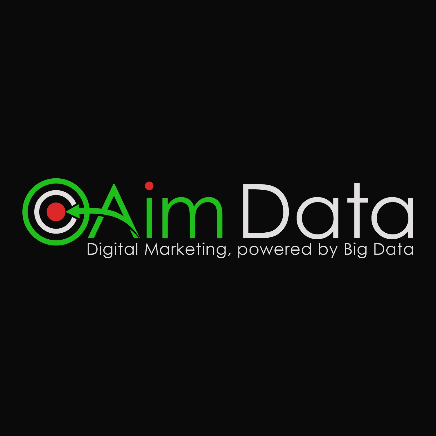 """Aim Data needs a powerful logo that people will see and say """"cool logo, I know exactly what they do"""""""