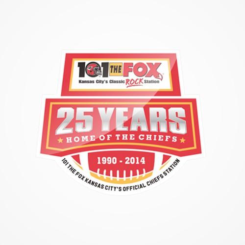101 The FOX Chiefs Radio HOME 25 Years