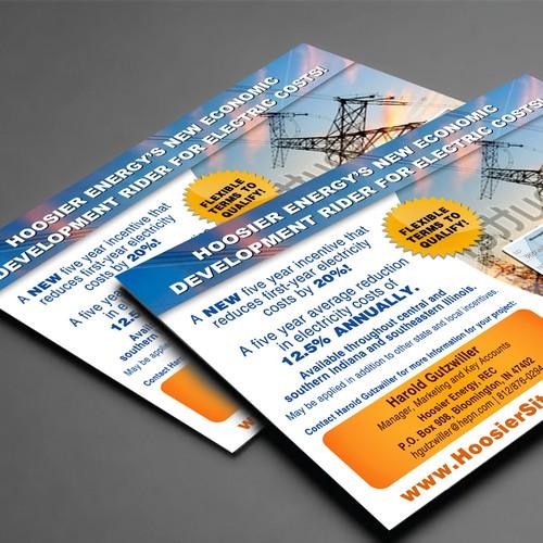 Hoosier Energy EDR Postcard contest