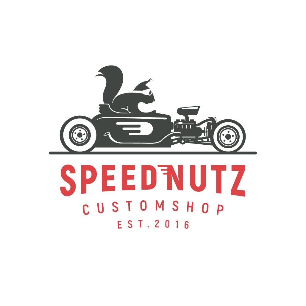 "New Hot Rod Shop ""SpeedNutz"" need a logo"