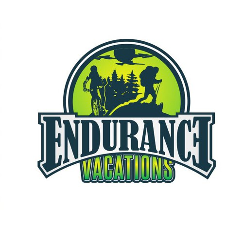 Logo for new Endurance Sports Vacations company