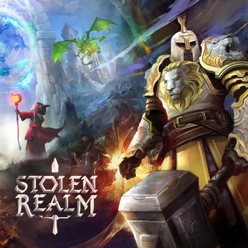 Fantasy RPG Video Game Marketing Materials