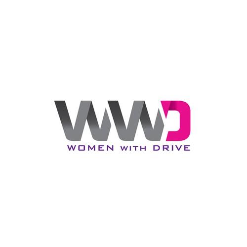 Logo for women golf