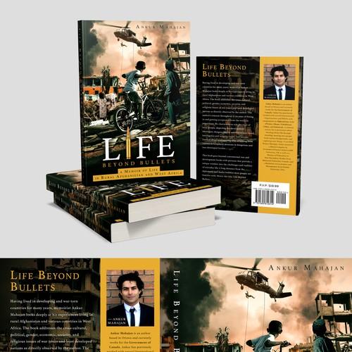 """Book cover """"LIFE BEYOND BULLETS"""" - ANKUR MAHAJAN"""