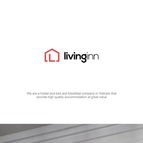 Livinginn Logo design