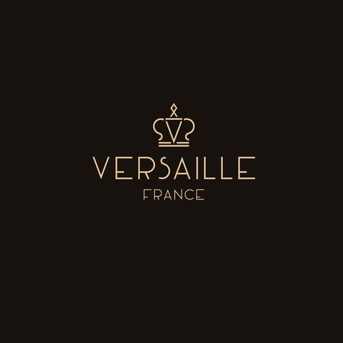 Luxury geometric logo for watch company.