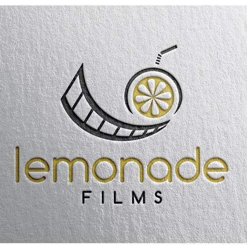 Films Logo with Lemonade theme