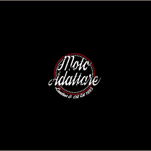 Retro logo for motorcylces est