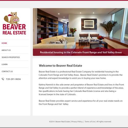 Real Estate Broker Homepage