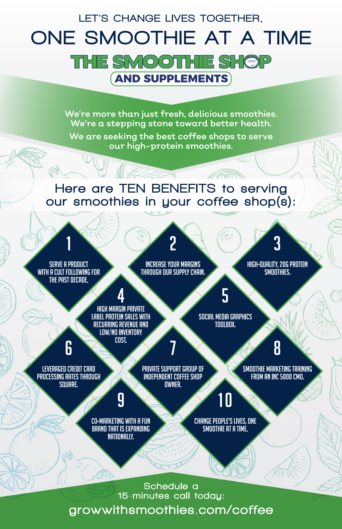 The Smoothie Shop: Coffee Shop Opportunity