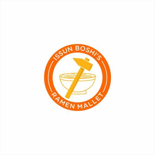 Issun Boshi's Ramen Mallet logo