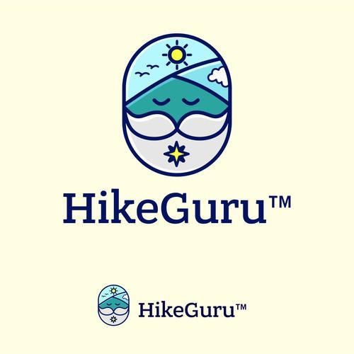 fun logo for hikeguru