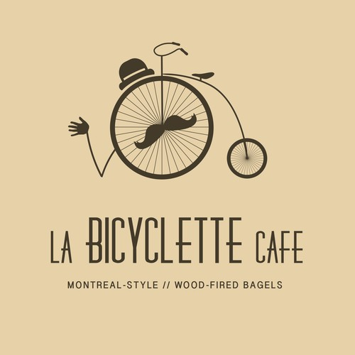 Help la bicyclette cafe with a new logo
